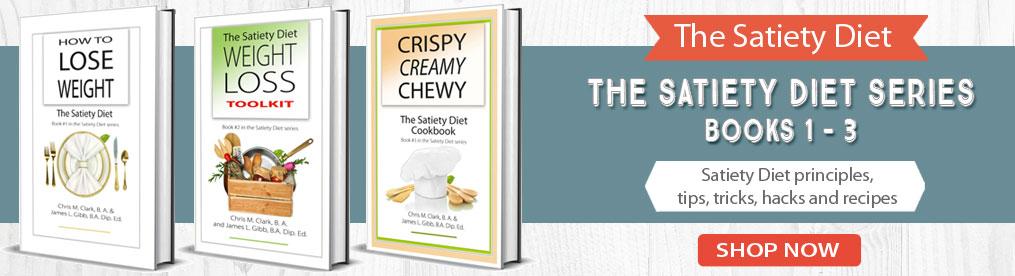The Satiety Diet series books 1 - 3